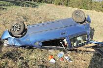 Dopravní nehoda u Prášil.