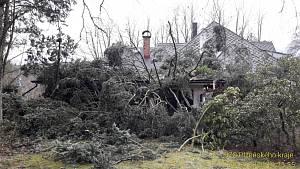 Bouře Sabine v Česku