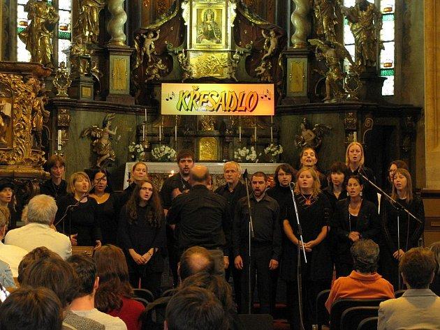 Vystoupení Touch of Gospel na minulém ročníku Křesadla.