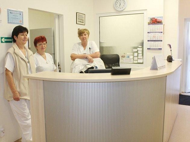 Slavnostní otevření lékárny a plicních ambulancí v Klatovské nemocnici.