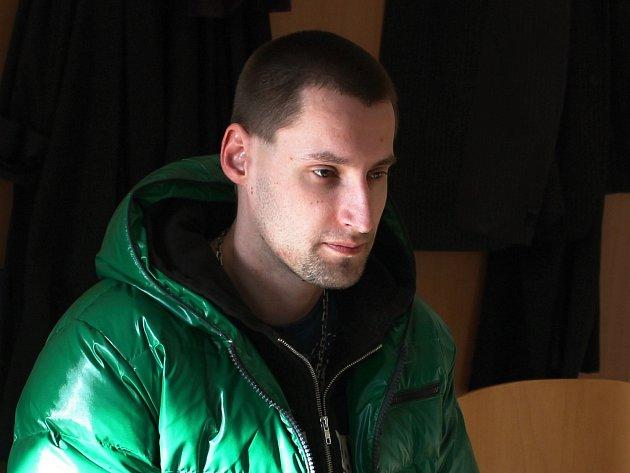 Martin Šebánek u soudu.