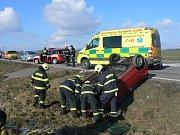 Nehoda u Hradešic.