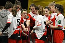 Pro florbalistky klatovského Sport Clubu (na archivním snímku) letošní pohárová sezona skončila již v prvním kole.