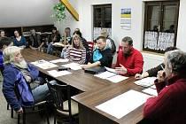 První pracovní zasedání nového prášilského zastupitelstva