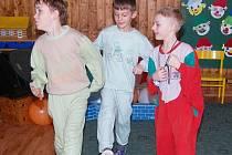 Maškarní bál školy a školky v Bezděkově