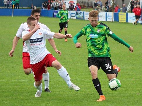Oslavy 120 let SK Klatovy 1898: Klatovy - Viktoria Plzeň 0:6