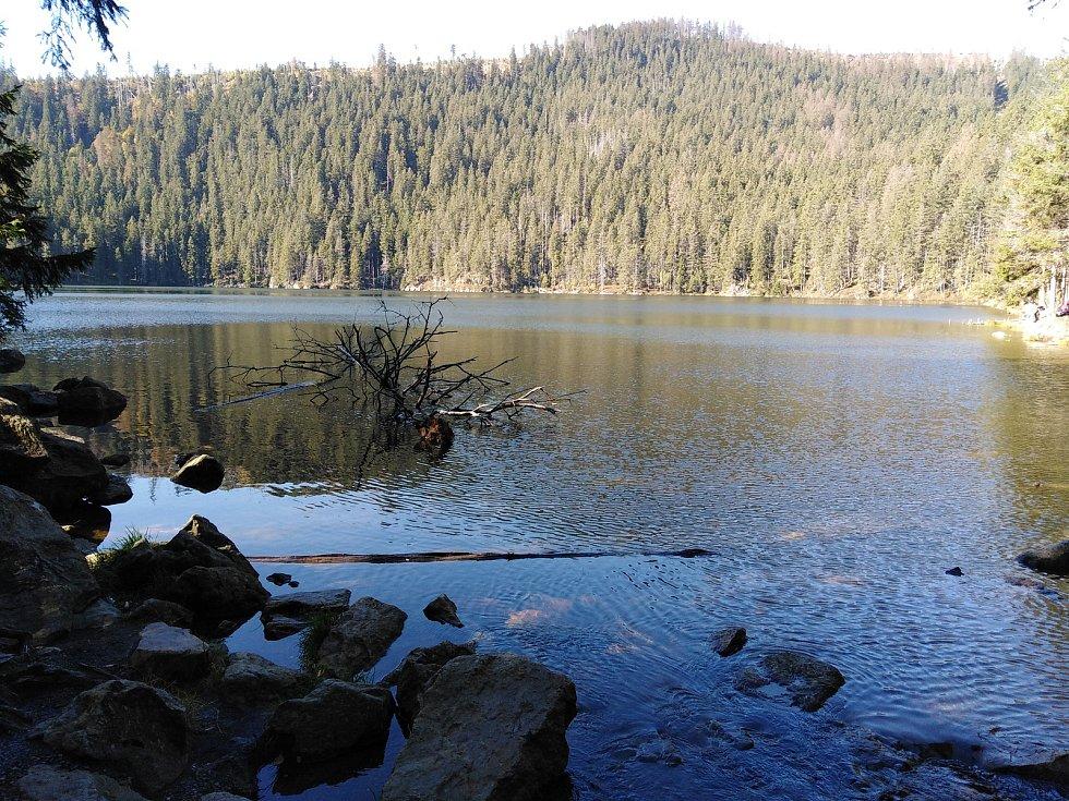 Čertovo jezero.