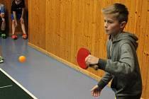Turnaj TJ Sokol Mochtín ve stolním tenise O vánočního kapra 2015