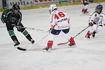 Hokej, st. žáci: HC Klatovy (bílé dresy) – HC Příbram 0:9