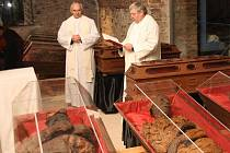 Vysvěcení klatovských katakomb