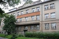 Budova bývalé porodnice v Klatovech.