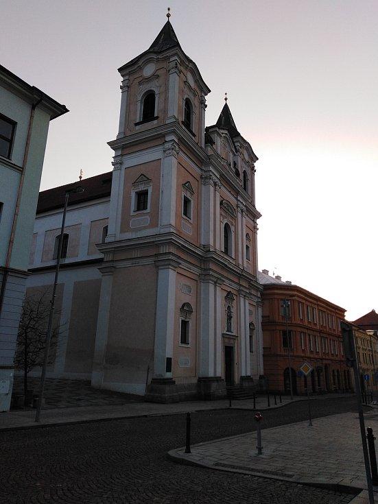 Kostel sv. Vavřince v Klatovech.