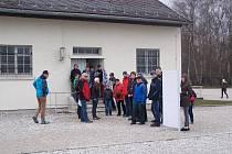 Návštěva žáků z Hartmanic v Dachau.