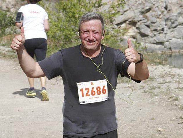 Roman Schavel je plný energie, což ukazoval ina nejednom zběžeckých závodů vČeské republice.