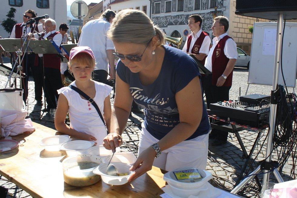 Farmářské trhy v Sušici a soutěž o nejlepší bramboračku 7. 9. 2013
