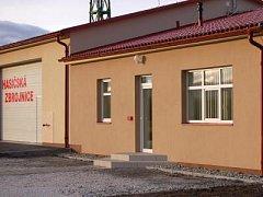Hasičská zbrojnice v Bezděkově, ilustrační foto