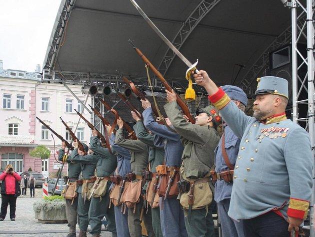 Oslavy města v Kašperských Horách 2014.