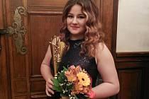 Kateřina Skypalová převzala na plzeňské radnici trofej pro nejlepší dorosteneckou atletku Plzeňského kraje
