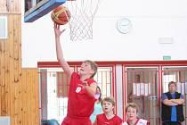 Národní finále mladších minižáků v basketbale v Klatovech.