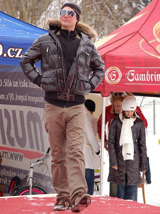 Tradiční show Extreme Day v Železné Rudě.