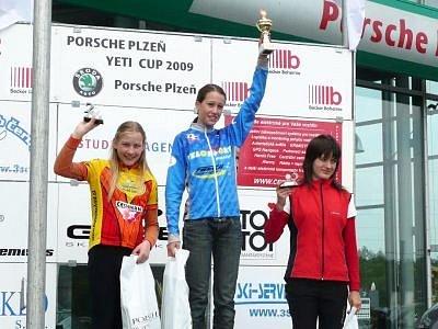 Veronika Vlčková (na nejvyšším stupni vítězů) byla nominána na triatlon a cyklistiku za Plzeňský kraj.
