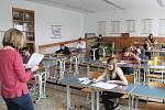 Gymnázium v Klatovech.