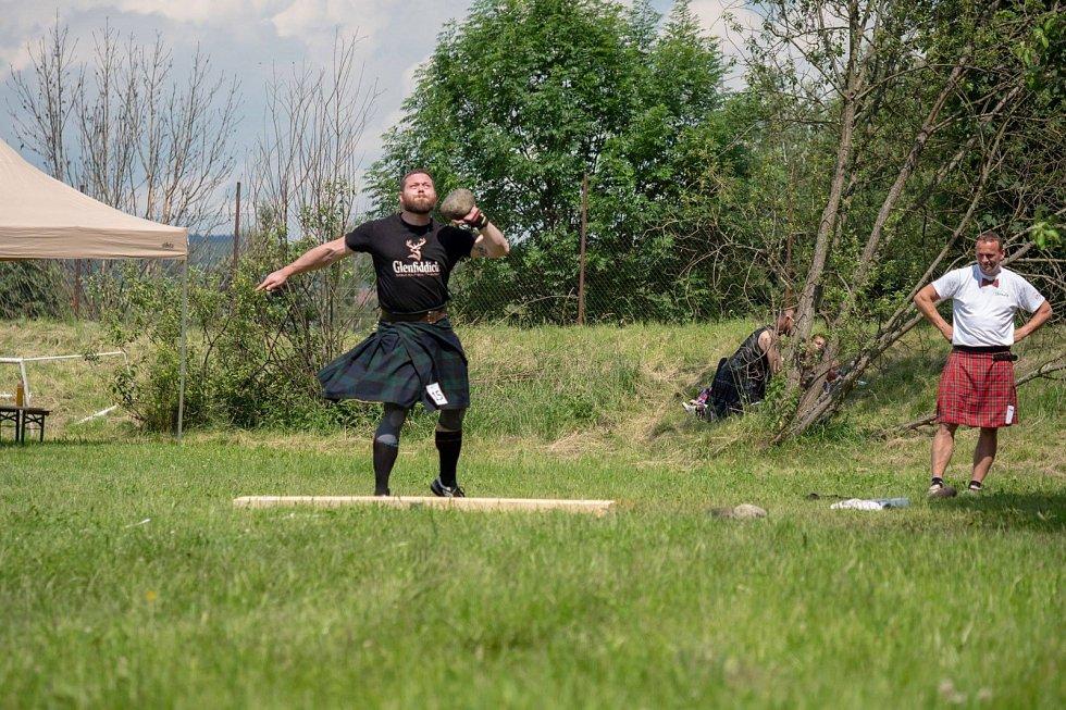 Skotské horalské hry.