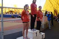 Sprinterka Martina Štychová z Atletiky Klatovy vystoupala v Praze na stupínek nejvyšší hned dvakrát.