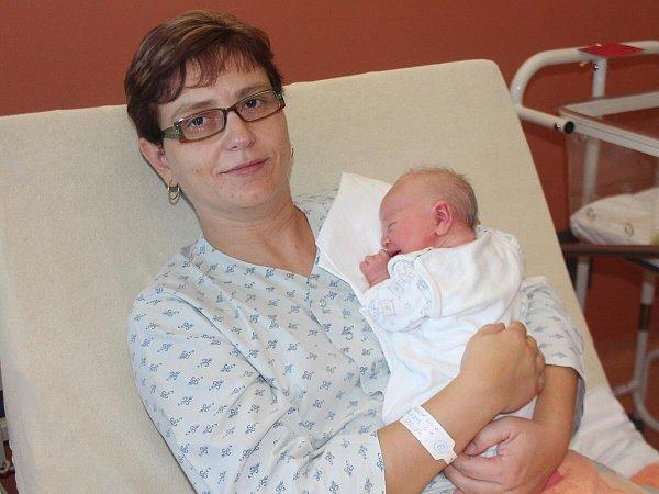 První narozené miminko vnové porodnici Linda Vacková