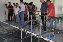 V Sušici otevřeli bazén