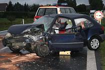 Dopravní nehoda u Štěpánovic