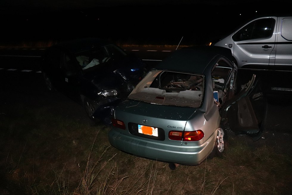 Tragická nehoda nedaleko Lomce na Klatovsku.