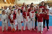 Karatisté z Klatov soutěžili ve Kdyni a v Chodově.