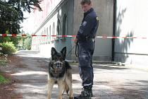 Klatovský soud musel být vyklizen kvůli výhrůžce bombou.