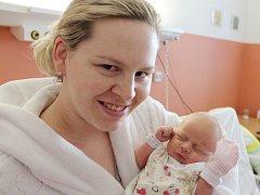Eliška Molíková z Nýrska (3190 g, 50 cm) se narodila v klatovské porodnici 2. dubna ve 23.27 hodin. Rodiče Veronika a Ladislav věděli dopředu, že jejich prvorozené miminko bude holčička, kterou na svět přivítala společně s maminkou babička Ivana.