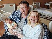 Kevin Trnka z Klatov (3740 g, 51 cm) spatřil světlo světa v klatovské porodnici 10. března v 19.43 hodin. Rodiče Zdeňka a Martin přivítali svého syna na svět společně. Doma na brášku čekají Petra (17), Martin (14), Gabriel (6) a Nikolas (3).