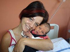 Jakub Ondrejkovič z Bližanov (2915 gramů, 50 cm) se narodil v klatovské porodnici 26. srpna v 8.20 hodin. Rodiče Dana a Aleš přivítali očekávaného synka na svět společně. Na brášku doma čeká Filípek (3).
