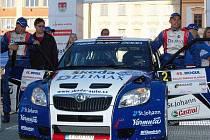 Cíl 45. Mogul Rallye Šumava