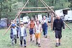 Režisér Petr Oukropec natáčí v Chudenicích film pro děti Mazel a tajemství lesa.