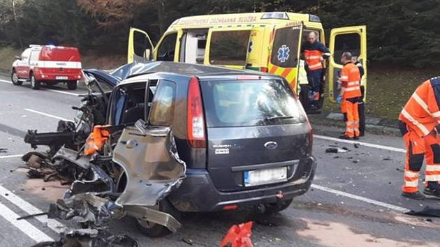 Tragická nehoda na Klatovsku