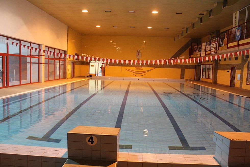 Klatovský krytý bazén po modernizaci.