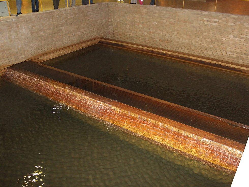 Exkurze v úpravně vody v Milencích.