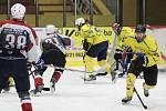 Krajská soutěž mužů 2016/2017 - čtvrtfinále play-off: HC Bidlo Malá Víska (šedé dresy) - Sokol Horní Lukavice 4:3 (samostatné nájezdy 2:1)