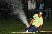 Noční hasičská soutěž v Janovicích