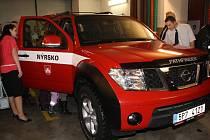 SDH Nýrsko má nové terénní auto - Nissan Pathfinder