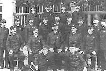 Hasiči v Nalžovech v roce 1907