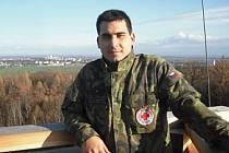 Záchranář asistenční záchranné služby Daniel Ďuriš