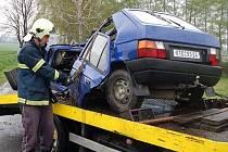 Smrtelná nehoda u třebýšova na Klatovsku.