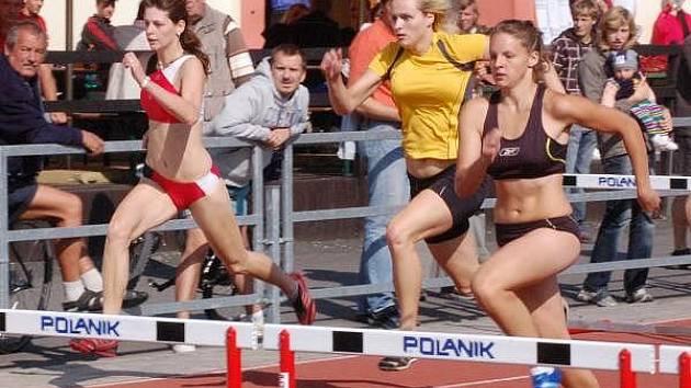 Atletické semifinále České republiky družstev juniorů a juniorek v Sušici