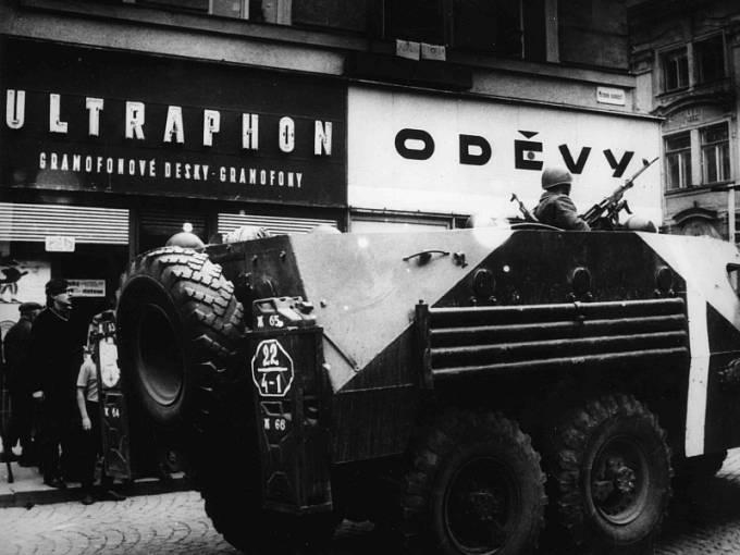 Srpen 1968, Klatovsko